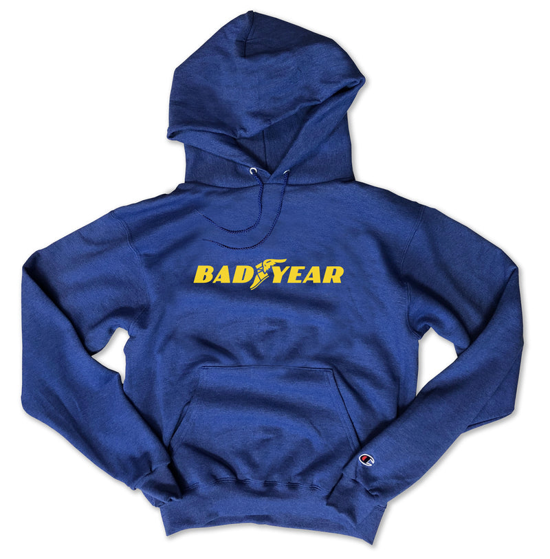 Bad Year ... 2020 Heather Royal Champion Brand Unisex Hoodie-Everfitte-[funny family shirt]-[drinking shirts]-[bachelor shirt]-[bachelorette party tees]-[bridal party shirt]-[bridal party tee]-[group drinking tees]-[funny vodka shirt]-[funny tequila tee]-[funny tequila tshirt]-[funny whiskey tshirt]-[funny drinking shirt]-[tequila t-shirt]-[vodka t-shirt]-[whiskey t-shirt]-Everfitte