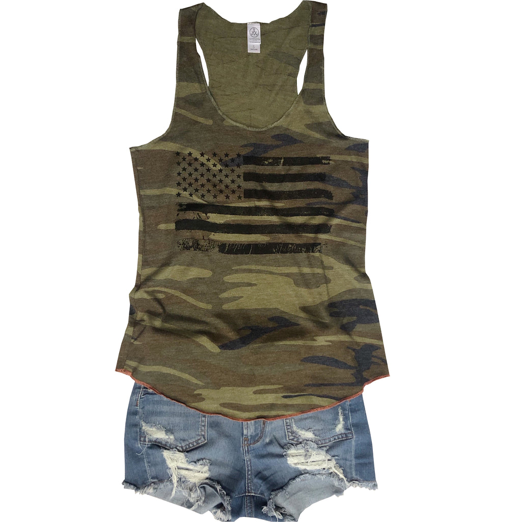 SALE! USA Flag Camo Tank