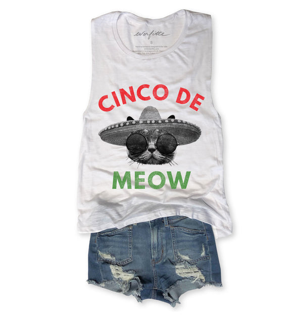 cinco de mayo, cinco de meow shirt, cat shirt, funny cat tshirt, cinco de mayo tee, everfitte, screen tee, tshirt, kitty shirt, bachelorette party shirt,