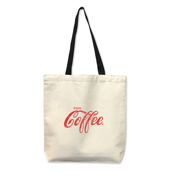 Enjoy Coffee...Reusable Canvas Tote Bag-Everfitte-[funny family shirt]-[drinking shirts]-[bachelor shirt]-[bachelorette party tees]-[bridal party shirt]-[bridal party tee]-[group drinking tees]-[funny vodka shirt]-[funny tequila tee]-[funny tequila tshirt]-[funny whiskey tshirt]-[funny drinking shirt]-[tequila t-shirt]-[vodka t-shirt]-[whiskey t-shirt]-Everfitte