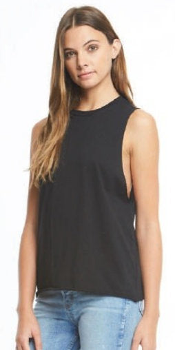 SALE!! Destined For Lateness....Raw Edge Muscle Tee
