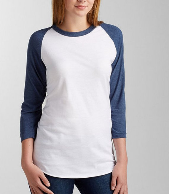 IDC ( I DON'T CARE) Football ...Unisex Baseball Raglan Tee
