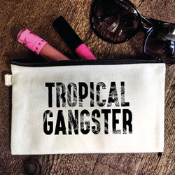Tropical Gangster Pouch-Everfitte-[funny family shirt]-[drinking shirts]-[bachelor shirt]-[bachelorette party tees]-[bridal party shirt]-[bridal party tee]-[group drinking tees]-[funny vodka shirt]-[funny tequila tee]-[funny tequila tshirt]-[funny whiskey tshirt]-[funny drinking shirt]-[tequila t-shirt]-[vodka t-shirt]-[whiskey t-shirt]-Everfitte