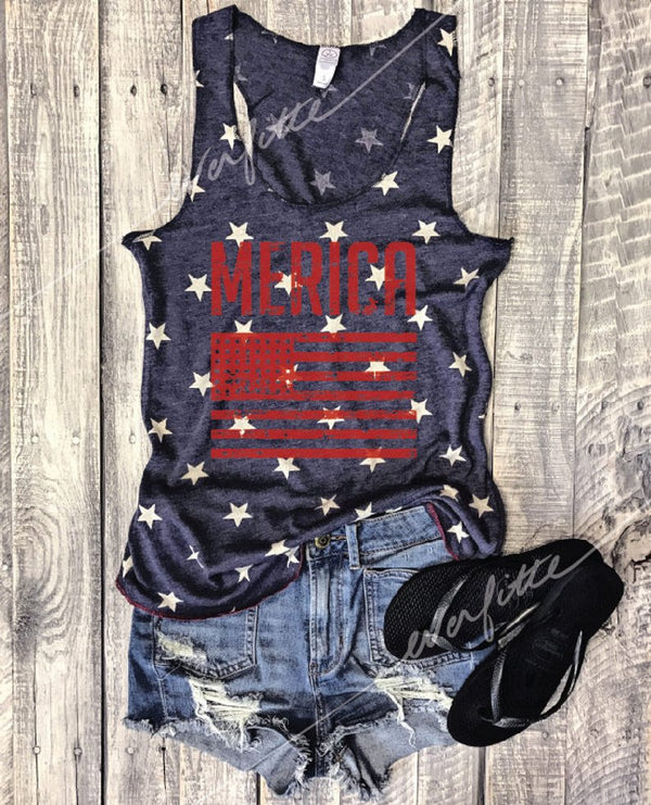 fourth of july tank, cute 4th of july tank, usa flag tank, America,  merica tank top, retro merica tank top, vintage merica tank top, usa tank top, everfitte, vintage tank top, maga tank top, racerback, American Tank top, America tank top, Cute 4th of july tank,