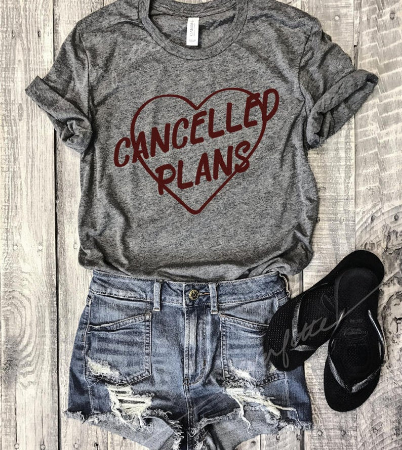 cancelled plans, antisocial, funny unisex tee, funny shirt, graphic tee, everfitte, introvert tee, unisex, womens, men, mom life tee,