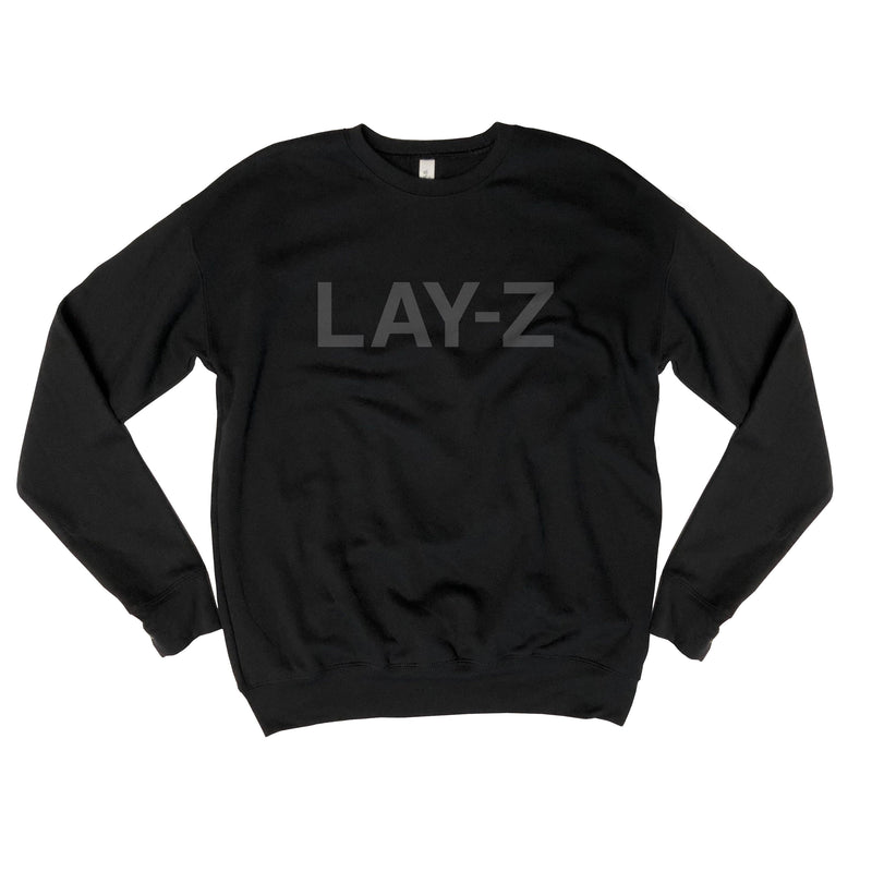 Sale! Lay-Z...Funny Drop Shoulder, Crew Neck Unisex Sweatshirt