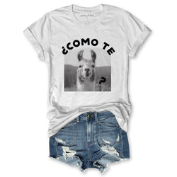 Sale! Como Te Llama?... Super Soft Cotton, Pigment Dyed Unisex Tee