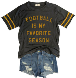 Football Is My Favorite Season Varsity Tee