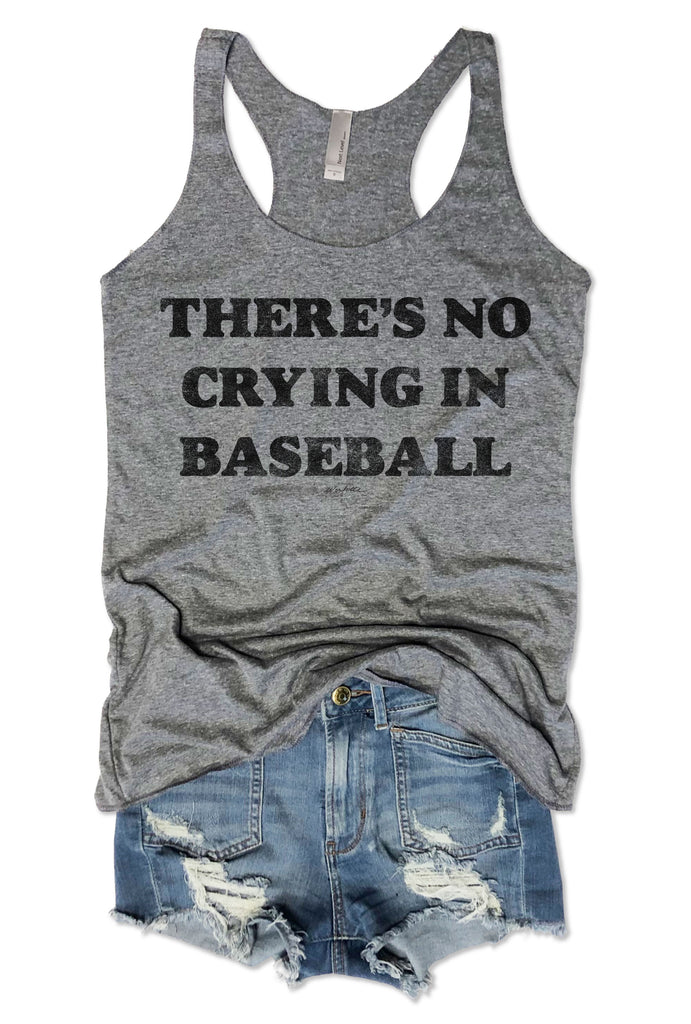 SALE! There's No Crying In Baseball....  Tank