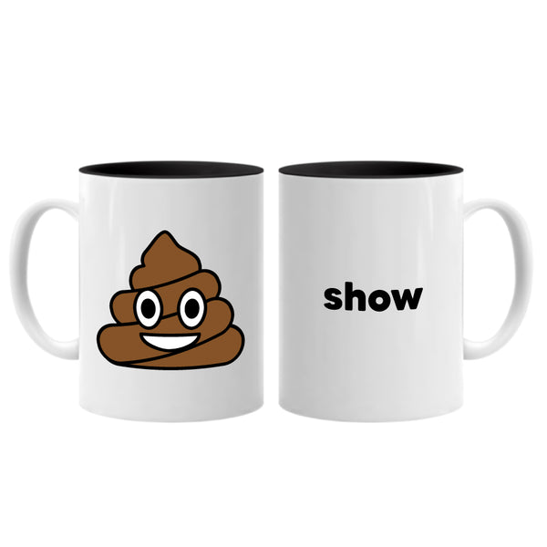 Shit Show ... Everfitte Funny Ceramic Two Tone Mug
