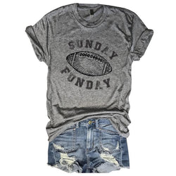 Sale!! Sunday Funday Football... Unisex Triblend Tee