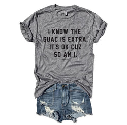 SALE! The Quac Is Extra, That's Ok Cuz So Am I...  Gray Unisex Triblend Tee
