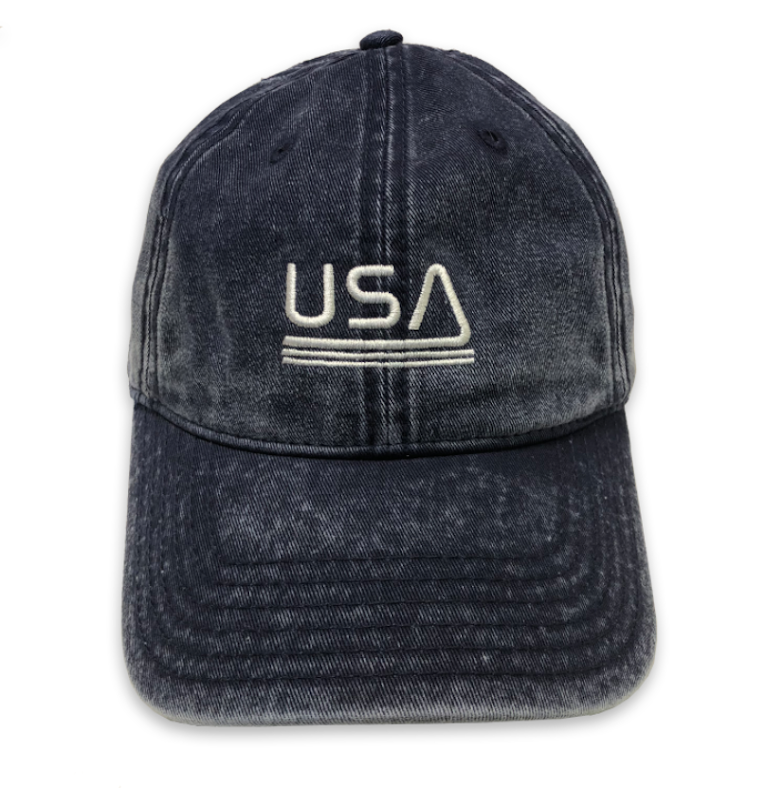 USA... EMBROIDERED  Funny Dad Hat