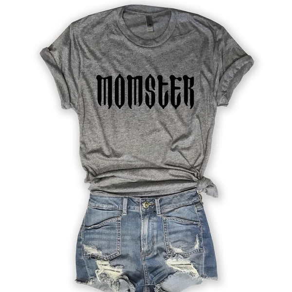 Momster... Unisex Triblend Tee-Everfitte-Everfitte