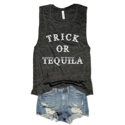 Trick Or Tequila... Muscle Tee-Everfitte-Everfitte