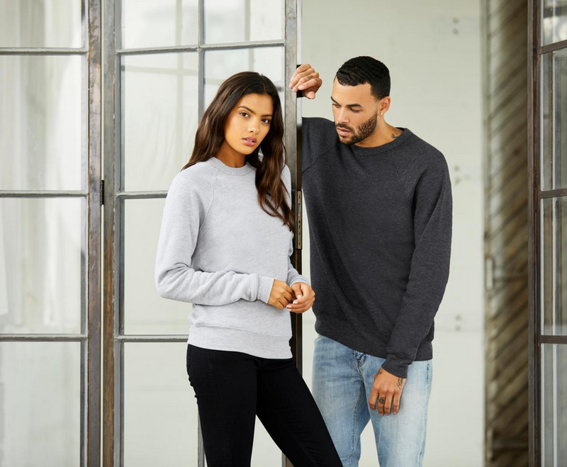 People Unite Separately in Your Own Homes ... Unisex Raglan Sweatshirt