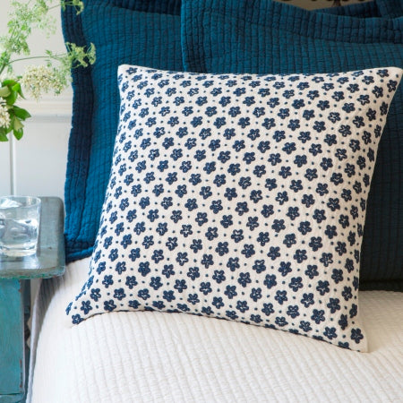 Anniebelle Indigo Pillow
