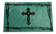 Barbwire & Cross Rug