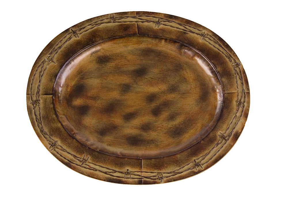 "Barbwire 4 PC Platters (19.5"")"
