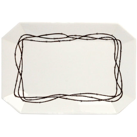Barbwire Serving Plate
