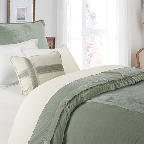 Arlington 1 PC Velvet Duvet Cover (King)