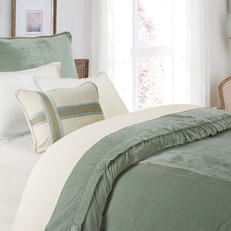 Arlington 1 PC Velvet Duvet Cover (Queen)