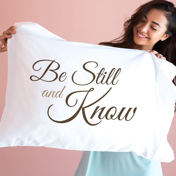 Be Still and know - std/qn size single