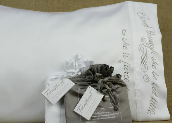 Little But Fierce Bamboo Pillowcase Single
