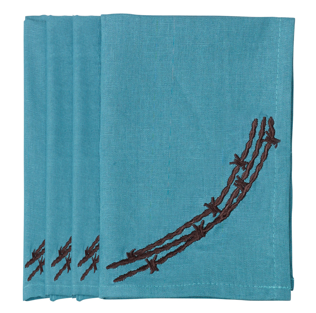Barbwire Napkin | Side Street Bed and Bath