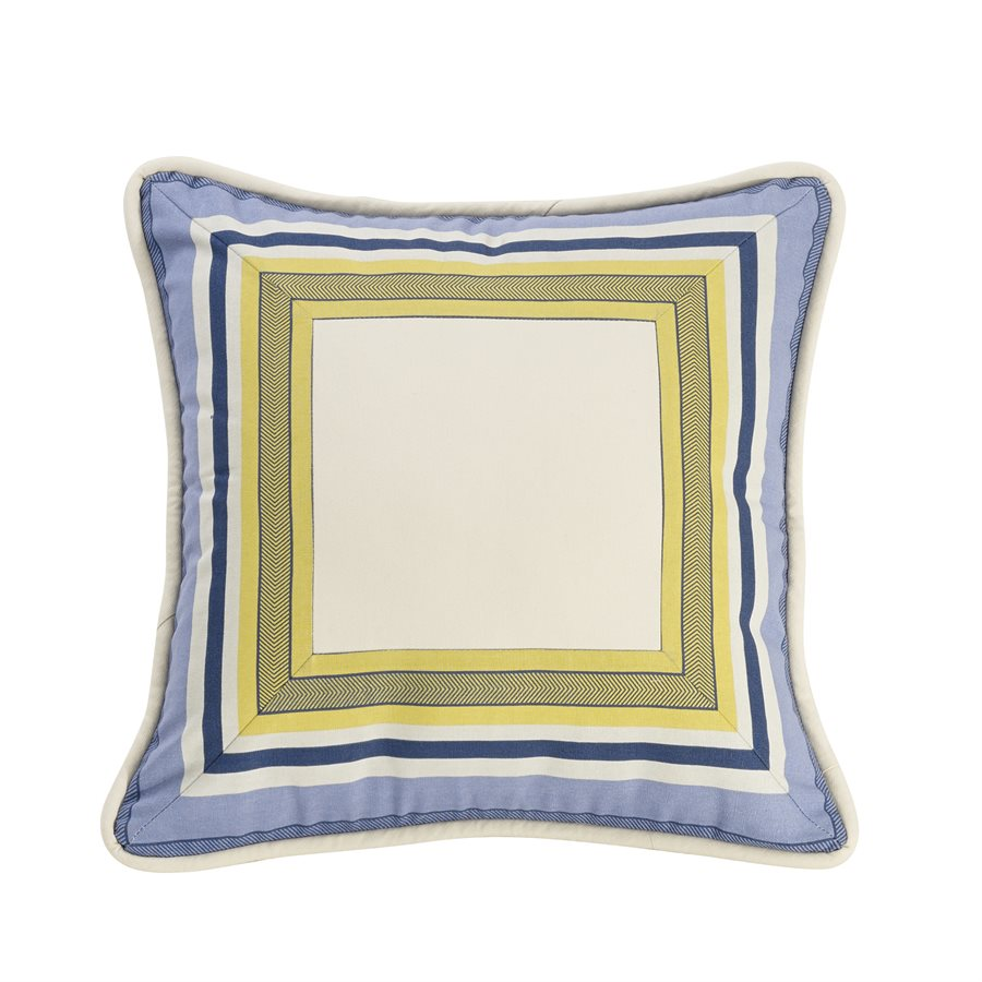 Beaufort Striped Square Pillow