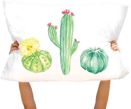 Microfiber Cacti 3 Straigt to Point Pillowcase