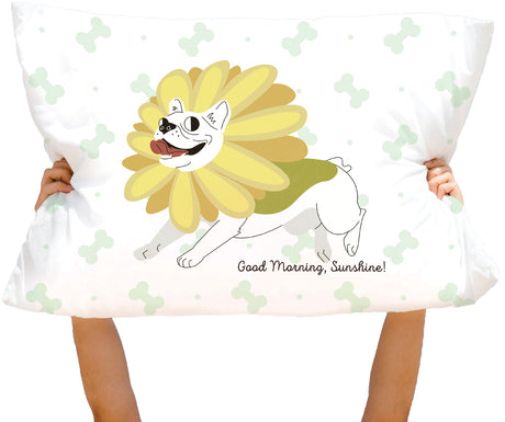 Microfiber Good Morning, Sunshine! Pillowcase