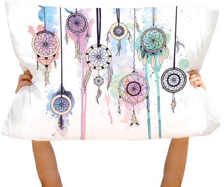Microfiber Dreamcatcher Pillowcase