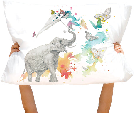 Microfiber Chase Your Elephantasies Pillowcase