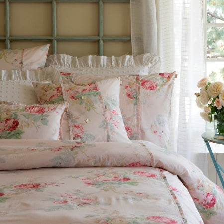 Petal Shore Rose Duvet