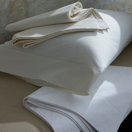 Classic Natural Percale Fitted Sheet