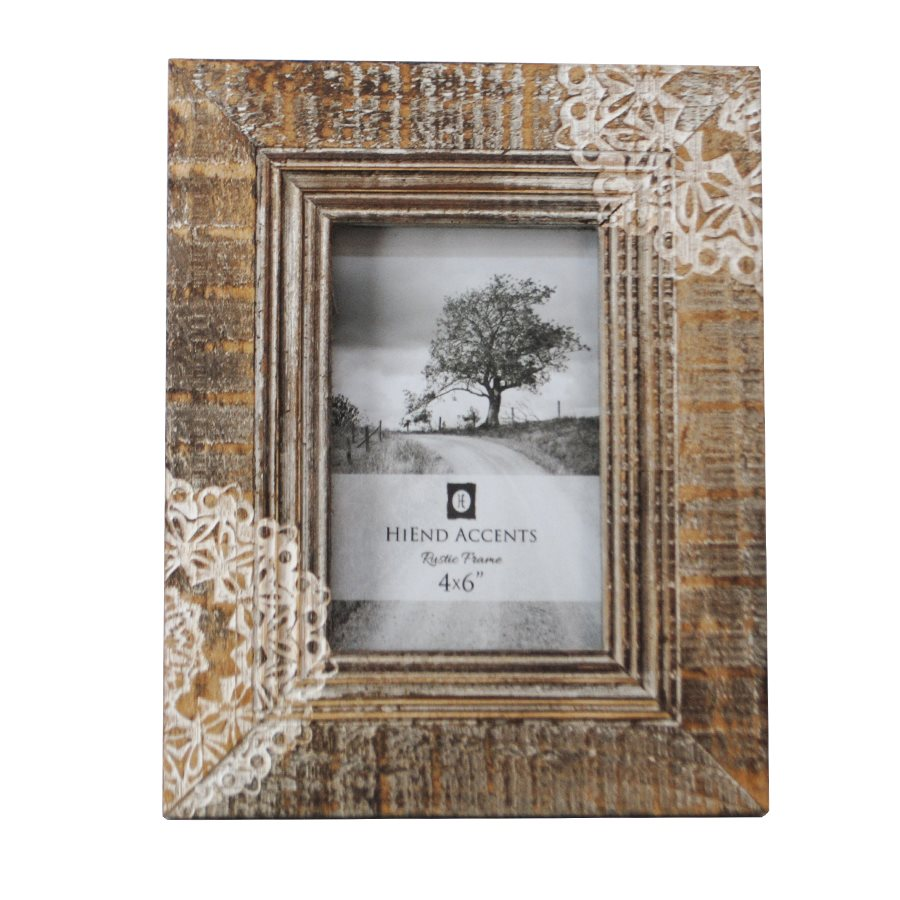 Picture Frame Cut Lace Picture Frame