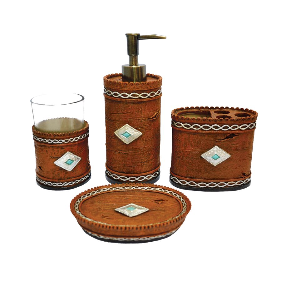 4PC Navajo Bath Set