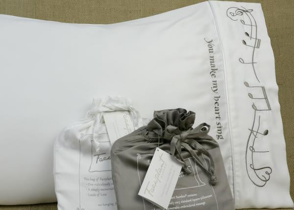 Make My Heart Sing Bamboo Pillowcase Single