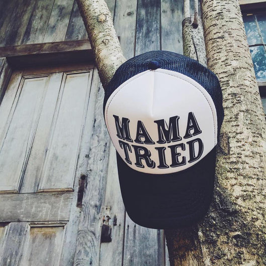 Mama Tried Trucker Hat - Bohemian Trading Post