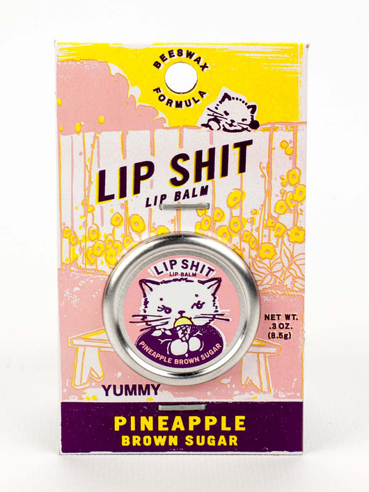 Lip Shit Lip Balm + Pineapple Brown Sugar - Bohemian Trading Post