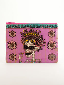 Day of the Dead Zipper Pouch - Bohemian Trading Post