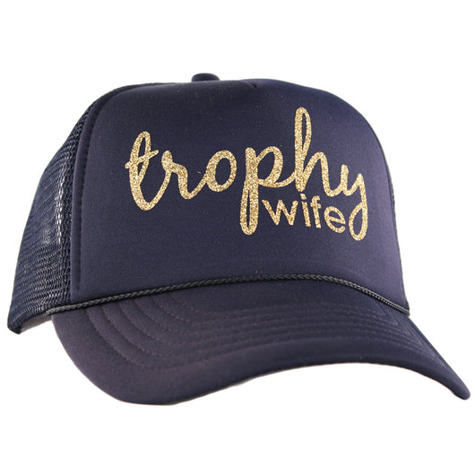 Trophy Wife Trucker Hat - Bohemian Trading Post
