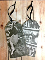 """If I Go Missing""  Bottle Tag - Bohemian Trading Post"