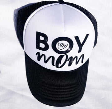 Boy Mom Trucker Hat - Bohemian Trading Post