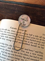 """Find Yourself and Be That"" Bookmark - Bohemian Trading Post"