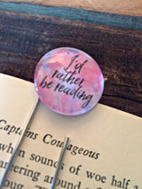 """I'd Rather Be Reading"" Bookmark - Bohemian Trading Post"