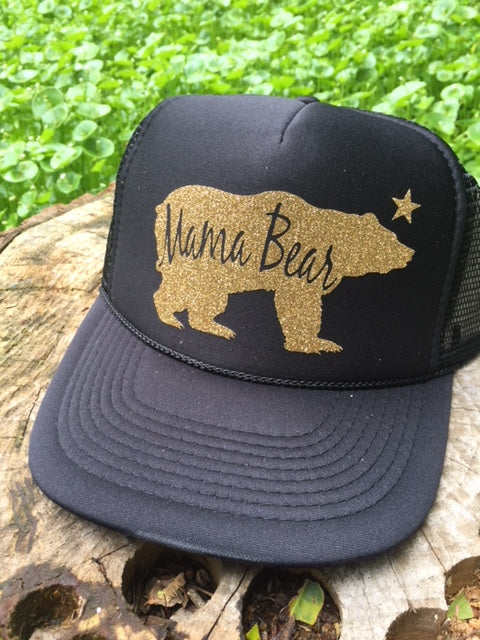 Mama Bear Trucker Hat - Bohemian Trading Post