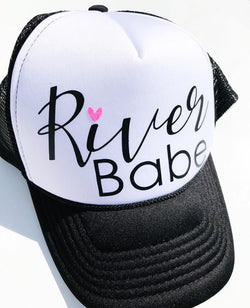 River Babe Trucker Hat - Bohemian Trading Post