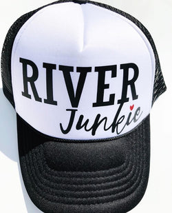 River Junkie Trucker Hat - Bohemian Trading Post